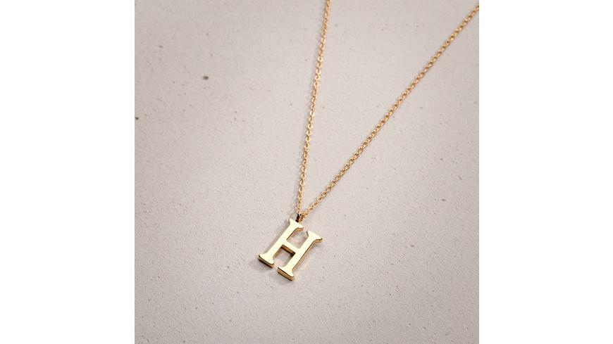 Kette - Golden H