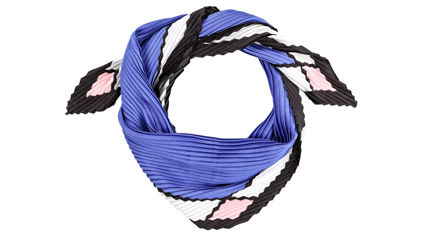 Bandana - Crepped Blue