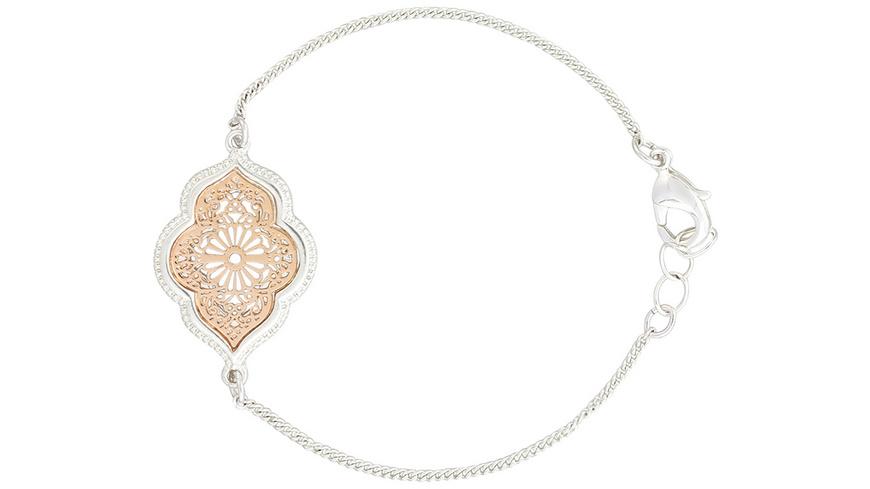 Armband - Silvery Rosé