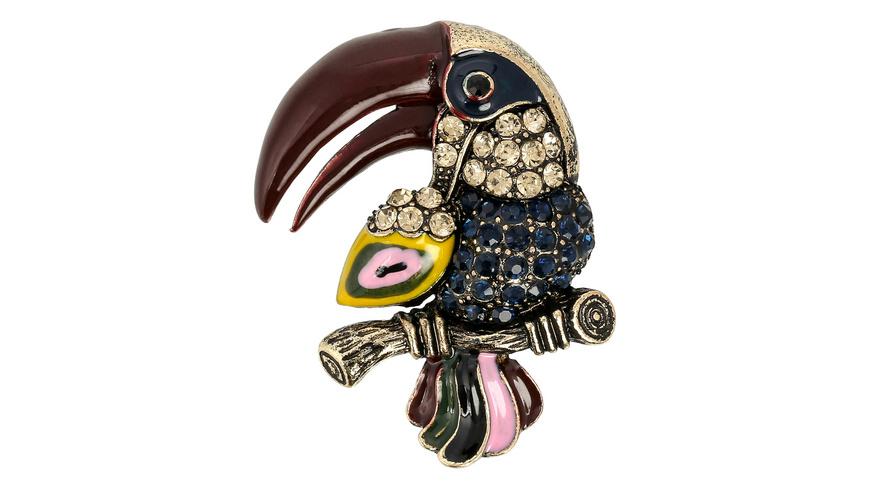Brosche - Vintage Bird