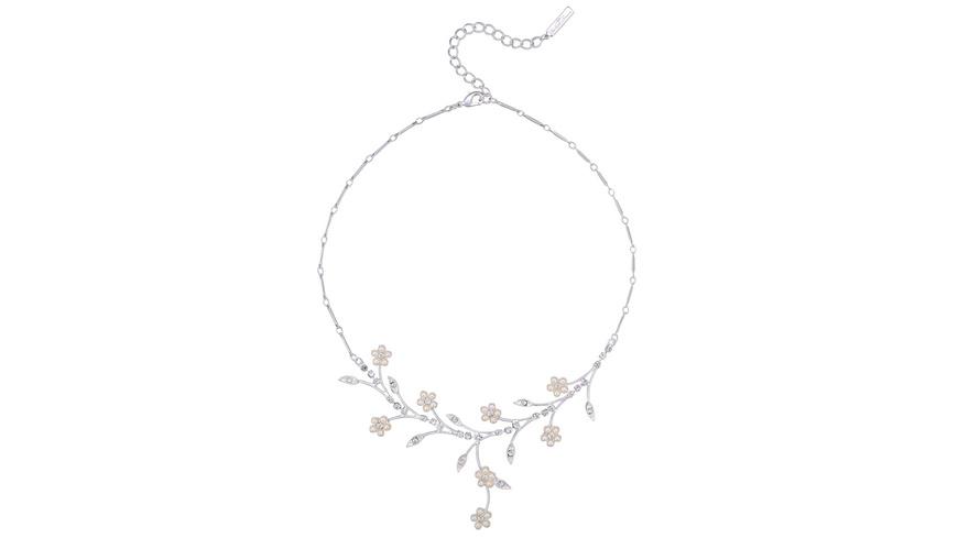 Kette - Perlenblumen