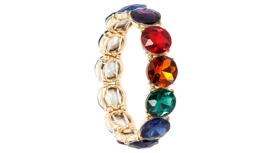 Armband - Dark Rainbow