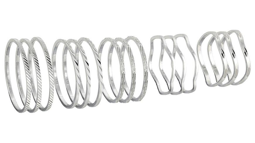 Mid-Rings - Metal Silver