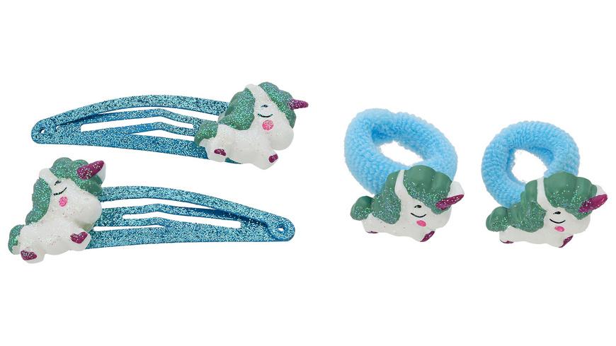 Haarspange - Blue Unicorn