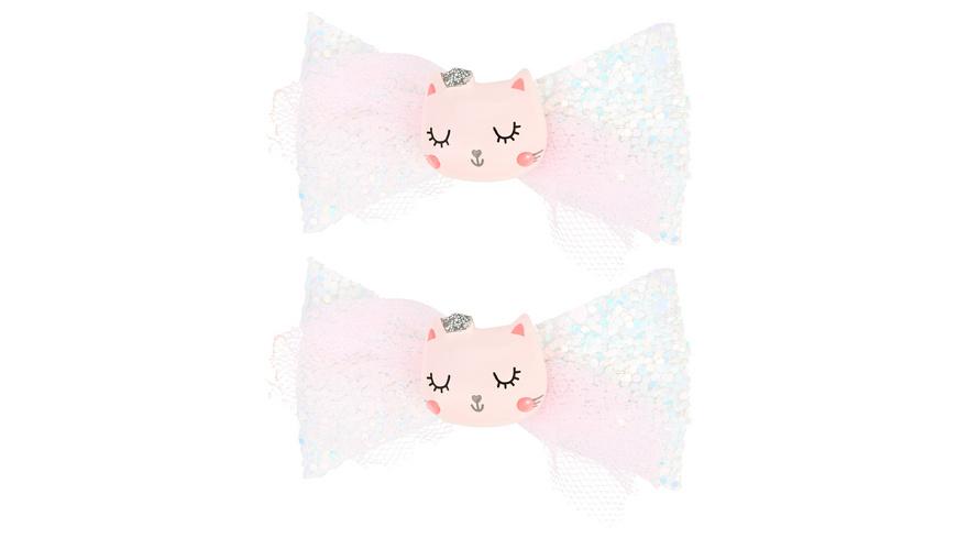 Haarklammer-Set - Little Cat