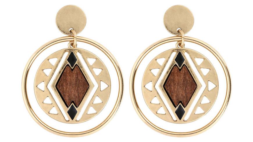 Ohrstecker -  Golden Amulett