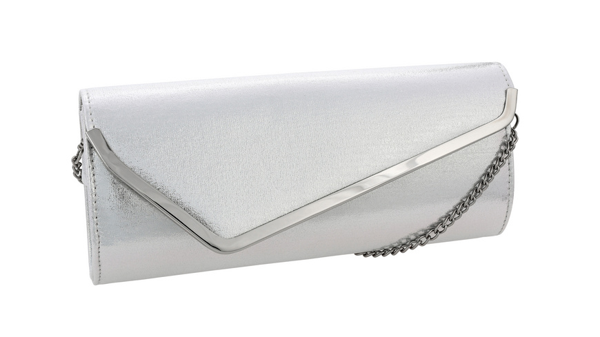 Clutch - Dressed Up Silver