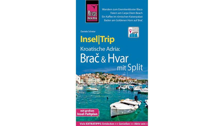 Reise Know-How InselTrip Brač & Hvar mit Split