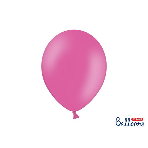 Strong Balloons 30cm. Pastel Hot Pink. 10pcs