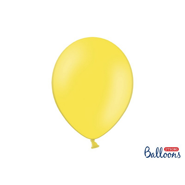 Strong Balloons 30cm. Pastel Lemon Zest (1 pkt / 10 pc.)