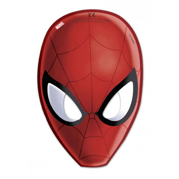 Ultimate Spiderman Web Warriors 6 Die-cut masks