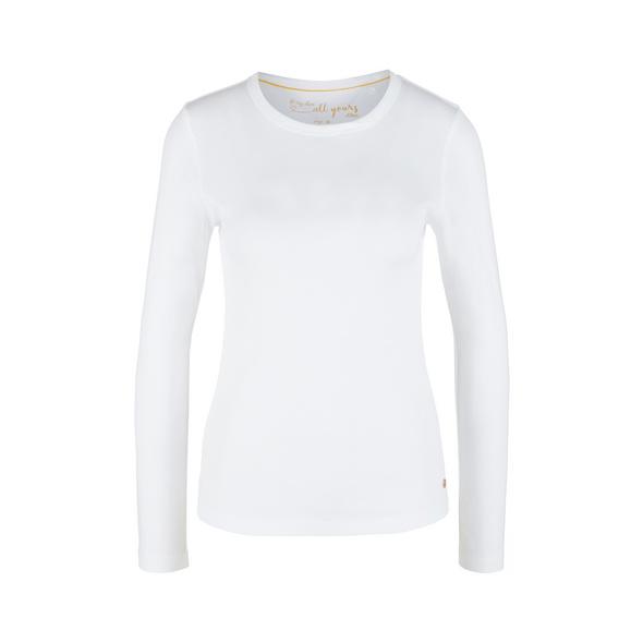 Langarmshirt aus Rippware - Rippware-Langarmshirt