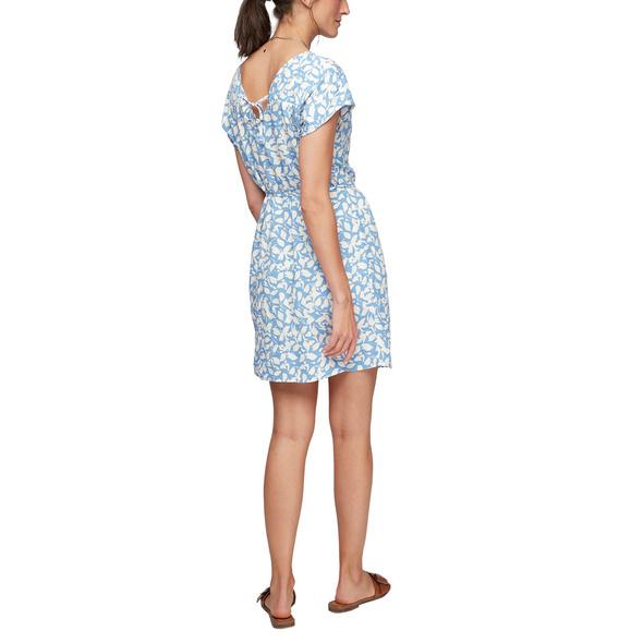 Kleid mit Rückenausschnitt - Viskosekleid