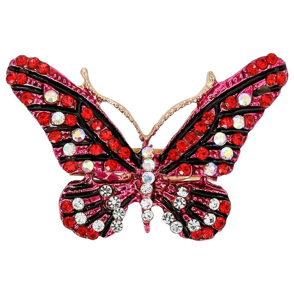 Brosche – Pink Butterfly