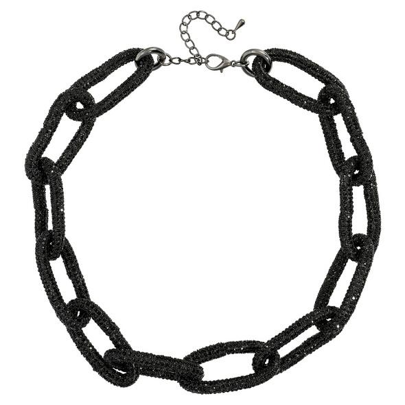 Kette - Black Crystal