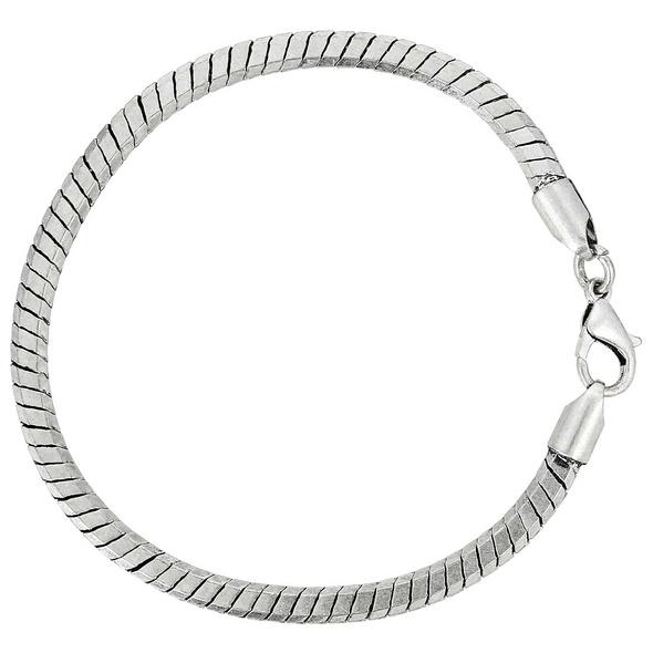 Armband - Silver Snake