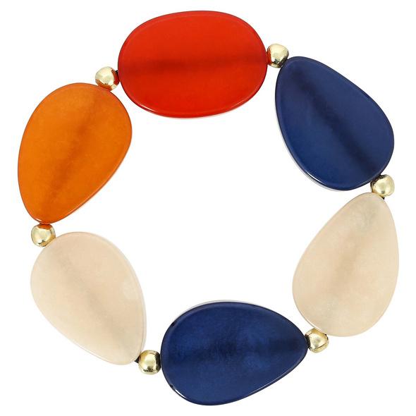 Armband - Flat Stones