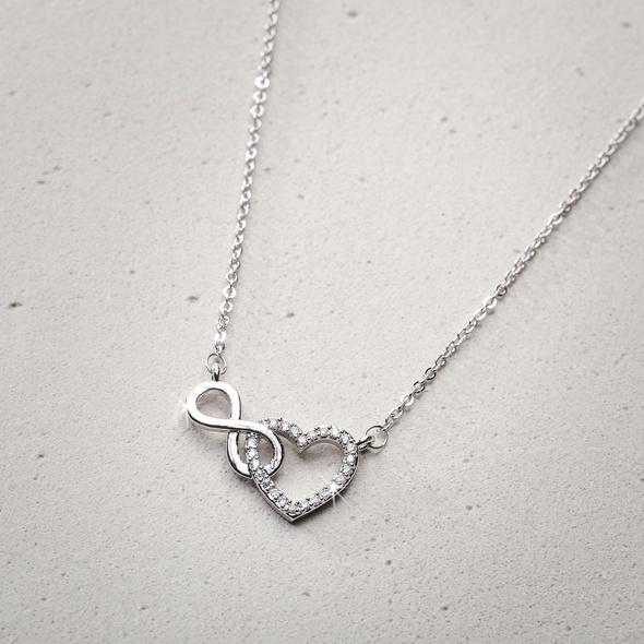 Kette - Silver Infinity