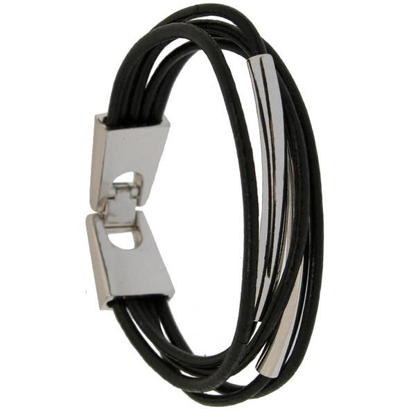 Armband - Leder - Metall