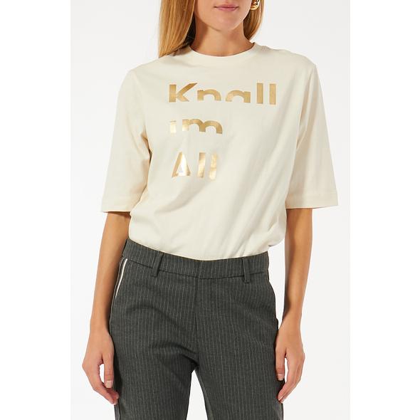2ALLY.ME T-Shirt Knall im All aus Bio-Baumwolle