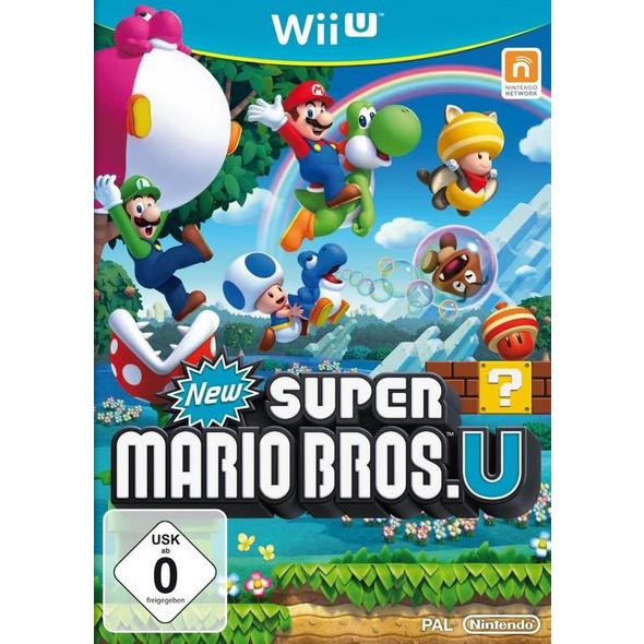 Nintendo New Super Mario Bros. U