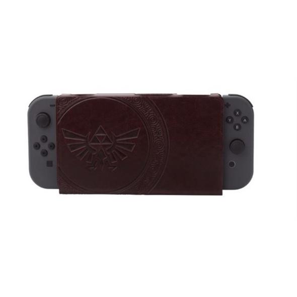 Nintendo Switch Cover Kit Zelda Leder