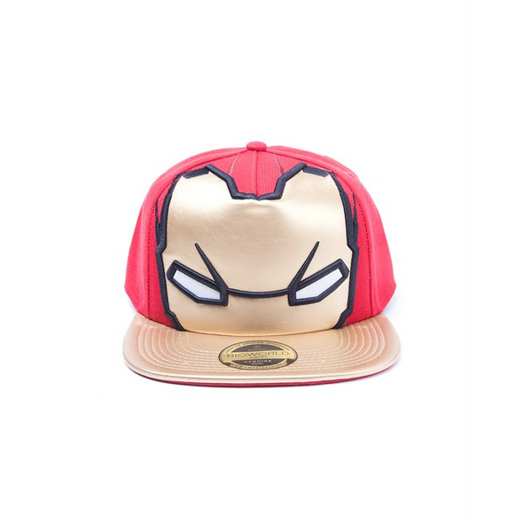 Marvel Iron Man - Snapback Big Face