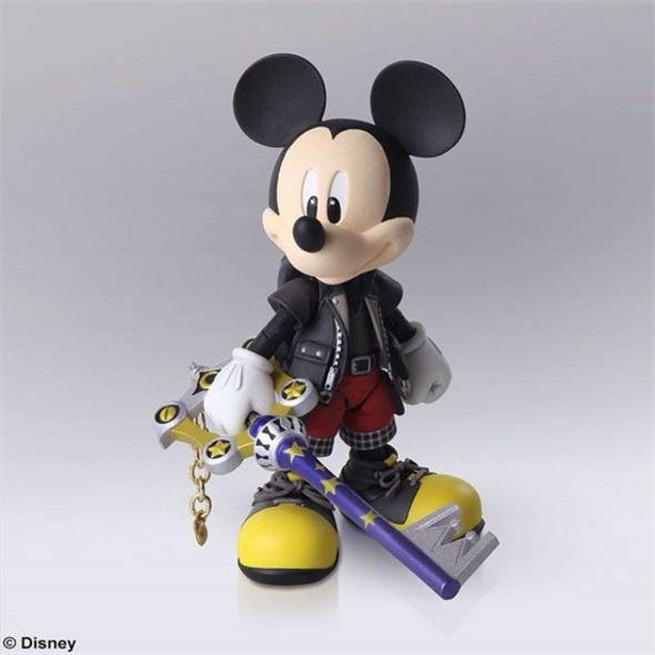 Kingdom Hearts III - Actionfigur König Micky
