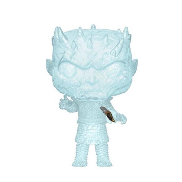 Game of Thrones - POP!- Vinyl Figur Kristall Nachtkönig mit Dolch
