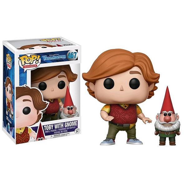 Trollhunters - POP! Vinyl - Figur Toby mit Gnome