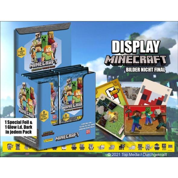 Minecraft - Sammelkartenspiel Booster-Pack