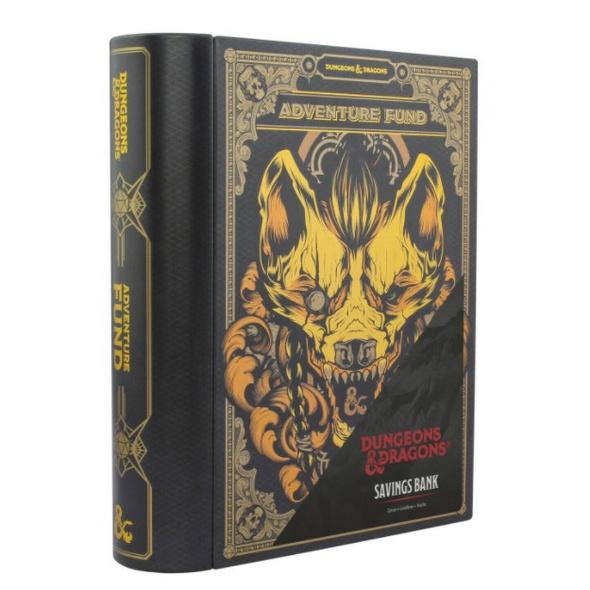 Dungeon & Dragons - Spardose Buch