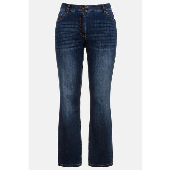 Jeans Mandy, gerade 5-Pocket-Form, Komfortbund, Stretch