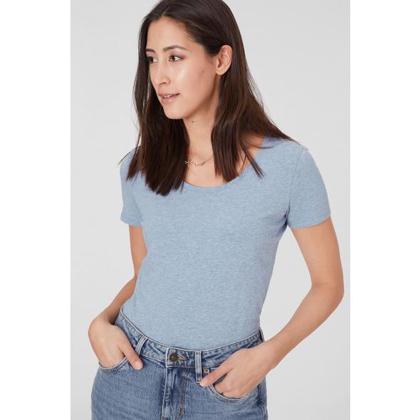 Basic-T-Shirt - Bio-Baumwolle