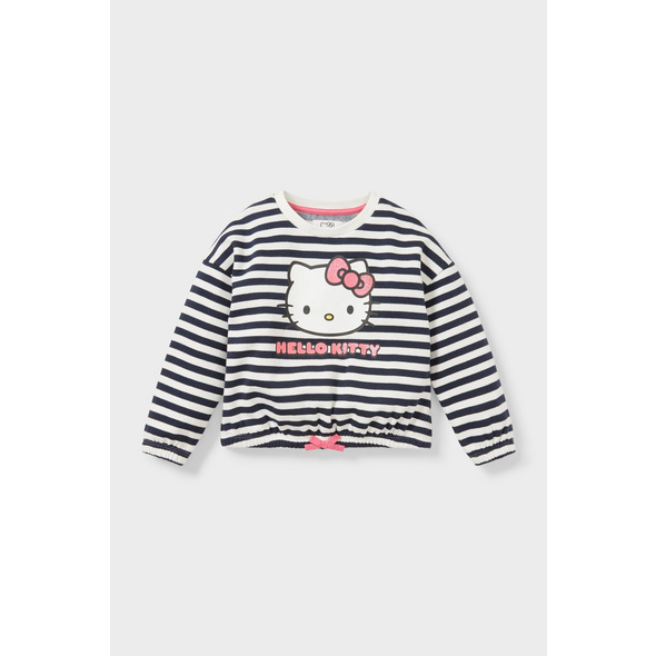Hello Kitty - Sweatshirt - gestreift