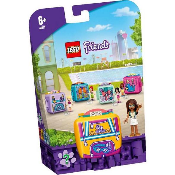 LEGO® Friends Magische Würfel 41671 Andreas Schwimmstar-Würfel