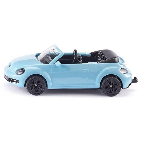 SIKU 1505 - VW The Beetle Cabrio, hellblau, Metall/Kunststoff