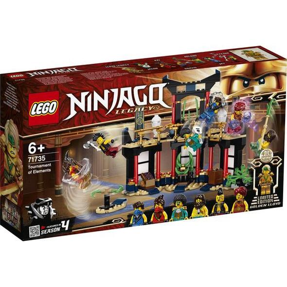 LEGO® NINJAGO® 71735 - Turnier der Elemente, Bausatz,