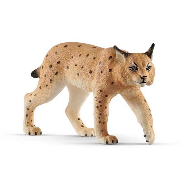 Schleich 14822 - Wild Life, Luchs, Spielfigur, Tierfigur