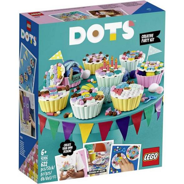 LEGO® DOTS 41926 - Cupcake Partyset, Bausatz,