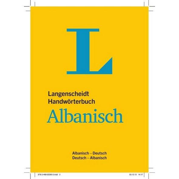 Langenscheidt Handwörterbuch Albanisch - für Schule, Studium und Beruf