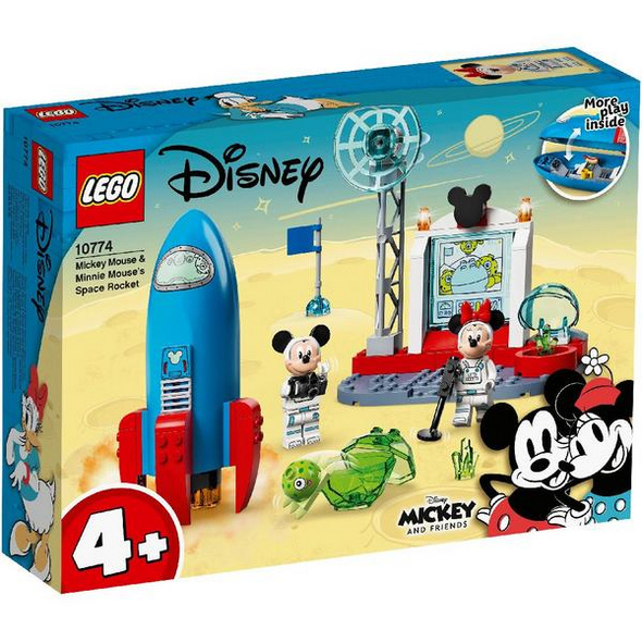 LEGO® Classic 10774 Mickey Mouse & Minnie Mouse's Weltraumrakete