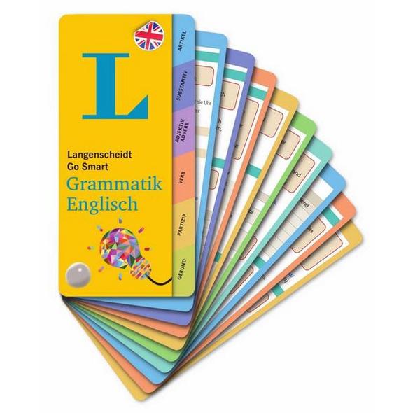 Langenscheidt Go Smart Grammatik Englisch - Fächer