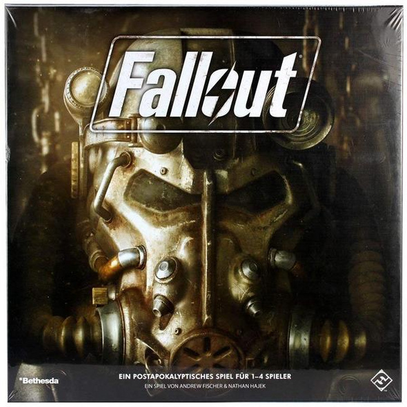 Asmodee FFGD0161 - Fallout, Das Brettspiel, Strategie und Taktikspiel, Tabletopspiel