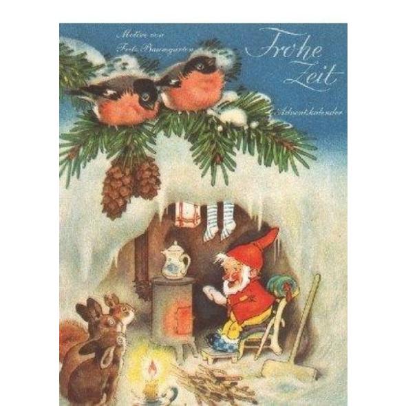 Advents-Abreißkalender 'Frohe Zeit'