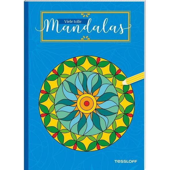 Viele tolle Mandalas. Für Kinder ab 5 Jahren