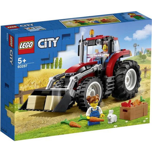 LEGO® City 60287 - Traktor, Bauernhofset, Bausatz,