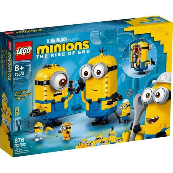 LEGO® Minions 75551 Minions-Figuren Bauset mit Versteck
