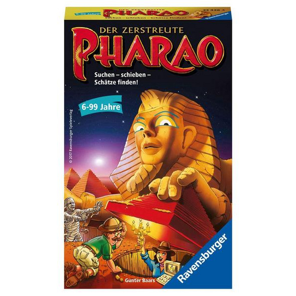 Ravensburger Der zerstreute Pharao - Mitbringspiel
