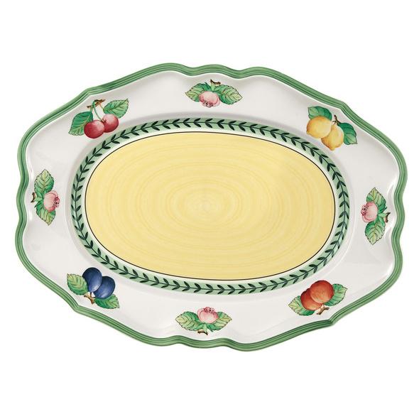 French Garden Fleurence Platte oval